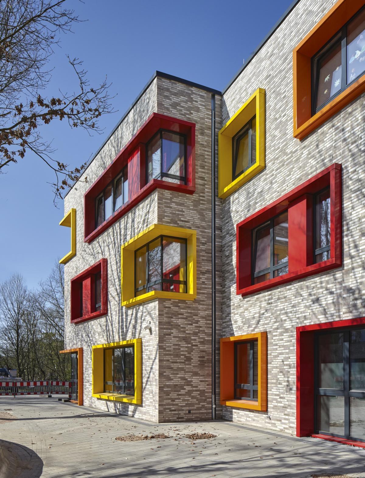 schule in der alten forst hamburg bds steffen architekten bda. Black Bedroom Furniture Sets. Home Design Ideas